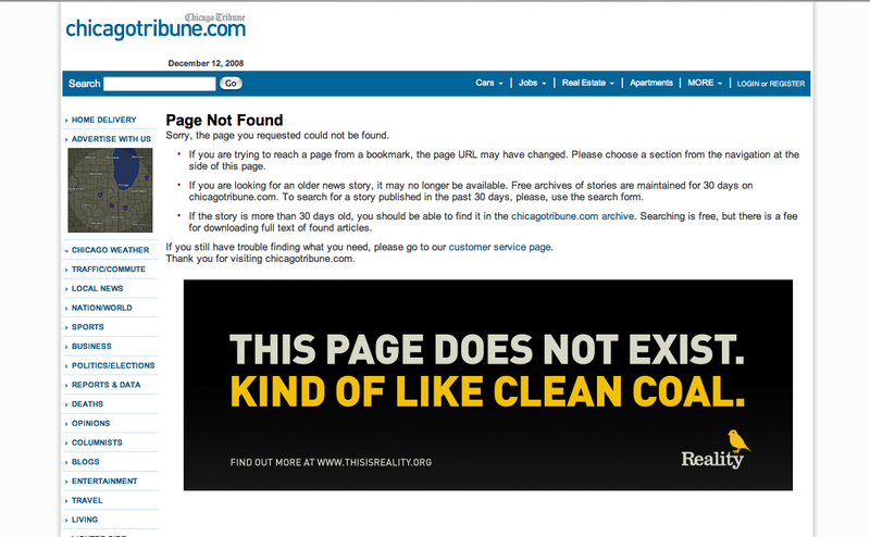 Chicago Tribune 404